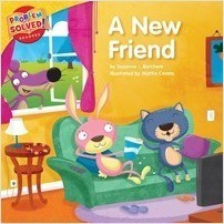 Cover: A New Friend: A lesson on friendship