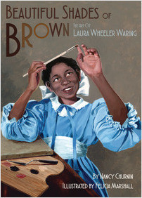 Cover: Beautiful Shades of Brown: The Art of Laura Wheeler Waring