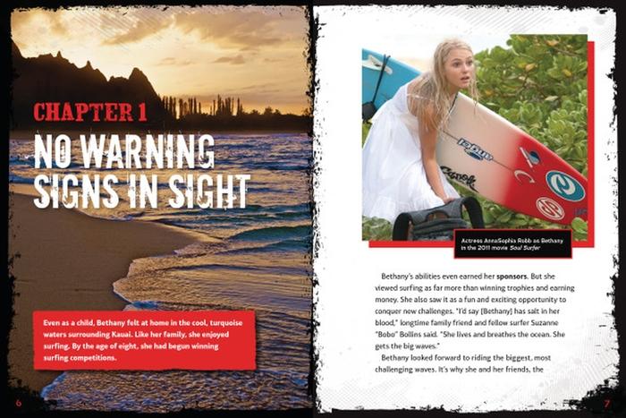 Shark Attack! Bethany Hamiltons Story of Survival
