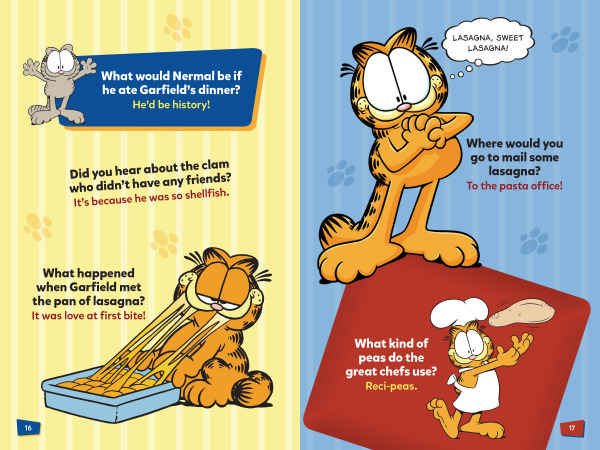 Garfield S All About The Food Jokes Lerner Publishing Group