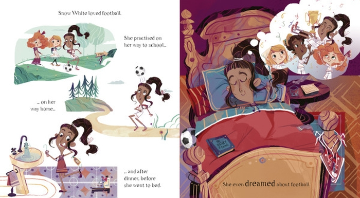 Snow White, Star Striker: A Story about - Lerner Publishing Group