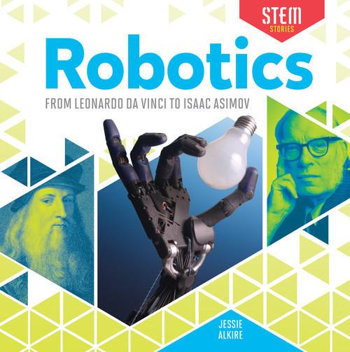 Cover: Robotics: From Leonardo da Vinci to Isaac Asimov