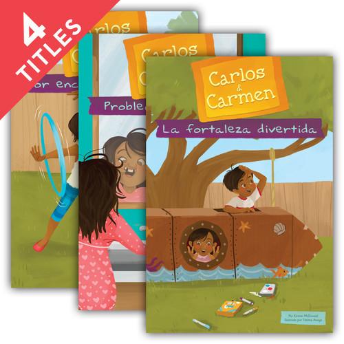 Cover: Carlos & Carmen Set 4 (Spanish)