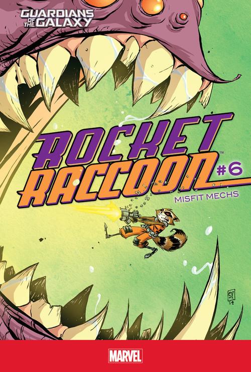 Cover: Rocket Raccoon #6: Misfit Mechs