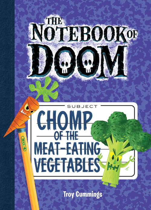 Cover: Chomp of the Meat-Eating Vegetables: #4