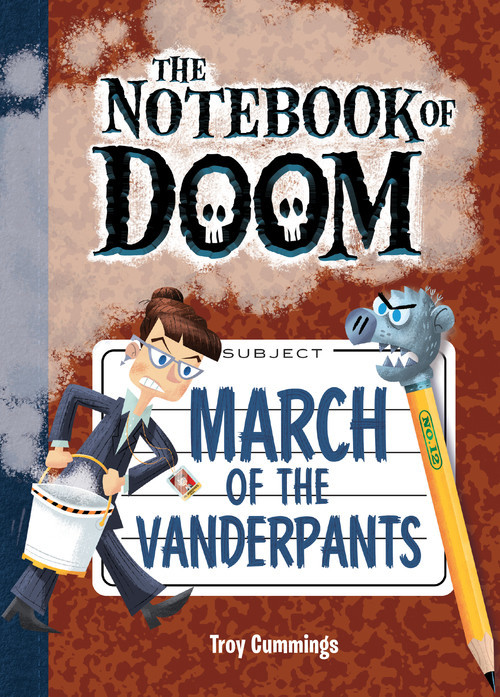 Cover: March of the Vanderpants: #12