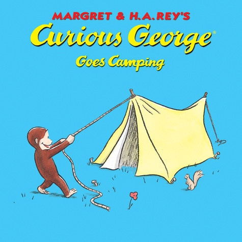 Cover: Curious George Goes Camping