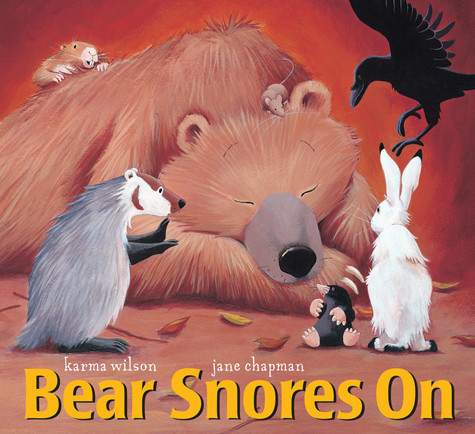Cover: Bear Snores On