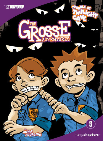 Cover: Grosse Adventures Vol. 3: Trouble at Twilight Cave