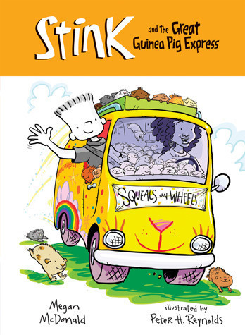 Cover: Stink and The Great Guinea Pig Express