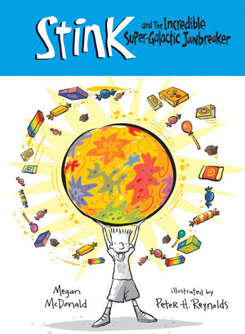 Cover: Stink and The Incredible Super-Galactic Jawbreaker