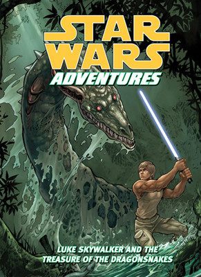 Cover: Star Wars Adventures: Luke Skywalker and the Treasure of the Dragonsnakes