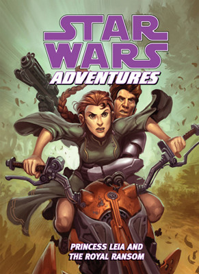 Cover: Star Wars Adventures: Princess Leia and the Royal Ransom