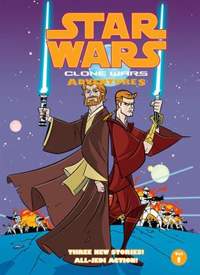 Cover: Star Wars: Clone Wars Adventures: Vol. 1