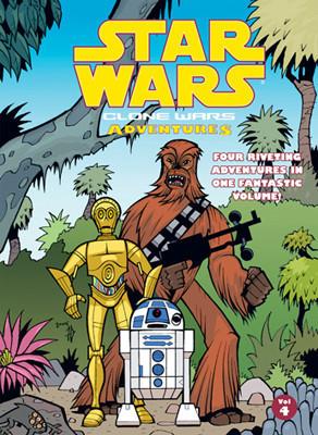 Cover: Star Wars: Clone Wars Adventures: Vol. 4