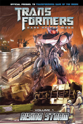 Cover: Transformers: Dark of the Moon: Rising Storm Vol. 1