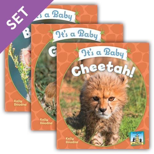 Cover: Baby African Animals