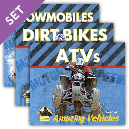 Cover: Amazing Vehicles Set 1
