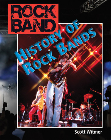 Cover: History of Rock Bands