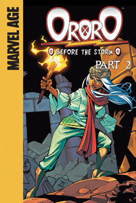 Cover: Ororo: Before the Storm: Part 2