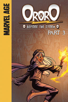 Cover: Ororo: Before the Storm: Part 3
