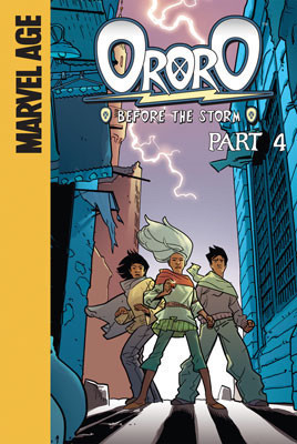 Cover: Ororo: Before the Storm: Part 4