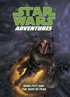 Cover: Star Wars Adventures: Boba Fett and the Ship of Fear