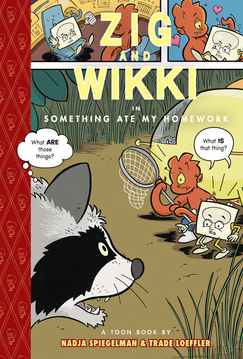 Cover: Zig and Wikki in Something Ate My Homework