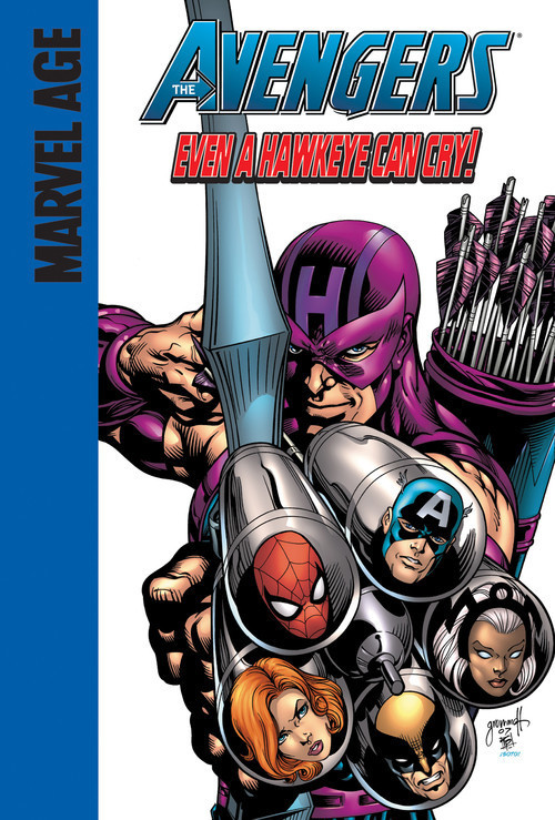 Cover: Even a Hawkeye Can Cry