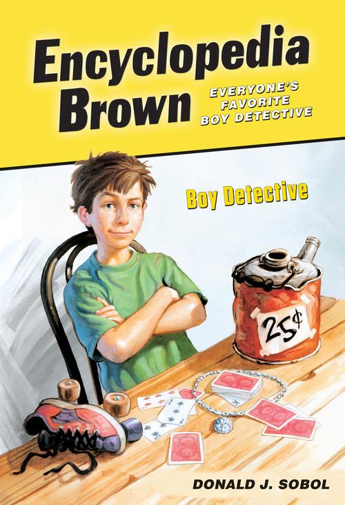 Cover: Encyclopedia Brown, Boy Detective