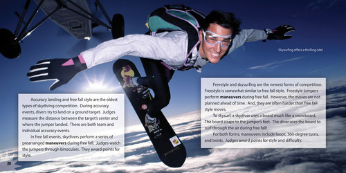 Cover: Pulling the Rip Cord: Skydiving