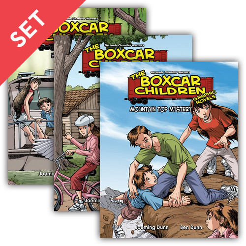 Cover: Boxcar Children Graphic Novels Set 3