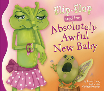 Cover: Flip-Flop and the Absolutely Awful New Baby