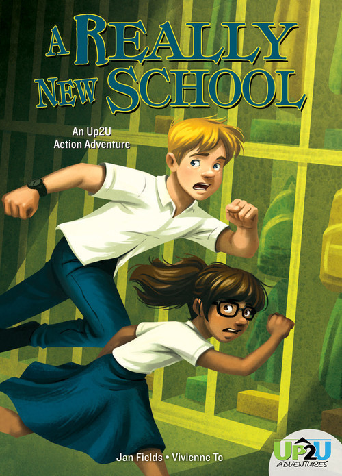Cover: Really New School: An Up2U Action Adventure