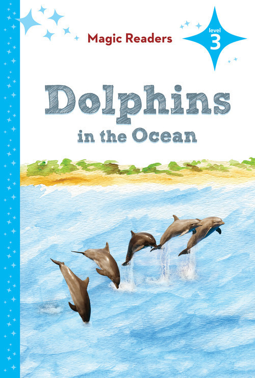 Cover: Dolphins in the Ocean: Level 3