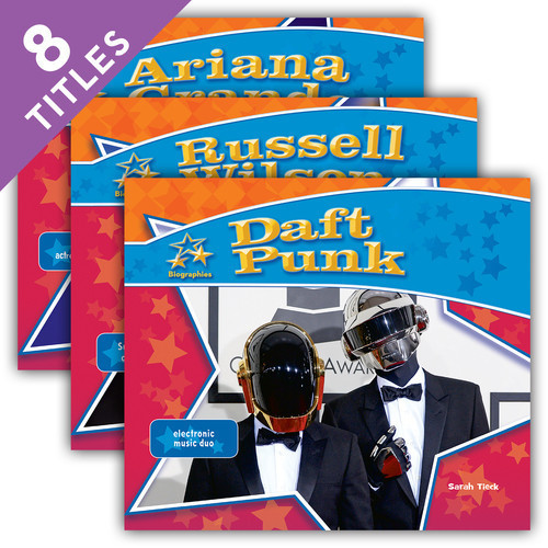 Cover: Big Buddy Biographies Set 12