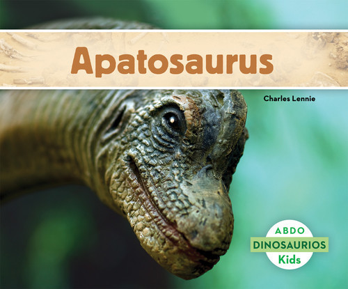 Cover: Apatosaurus (Spanish version)
