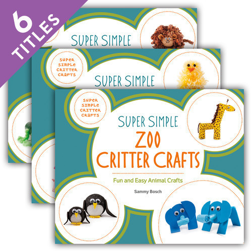Cover: Super Simple Critter Crafts