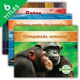 Cover: Animales amigos (Animal Friends)