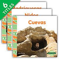 Cover: Casas de animales (Animal Homes)