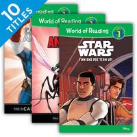 Cover: World of Reading Level 1 Set 3