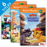 Cover: World of Reading Level Pre-1 Set 2