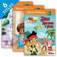 Cover: World of Reading Pre-1 Set 1
