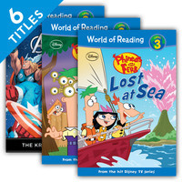 Cover: World of Reading Level 3