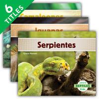 Cover: Reptiles (Spanish Version)