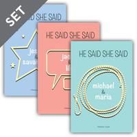 Cover: He Said, She Said