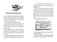 Spread: Encyclopedia Brown, Boy Detective